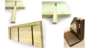Specifikacije drvenih balkonskih vrata