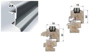 Profili drvenih balkonskih vrata