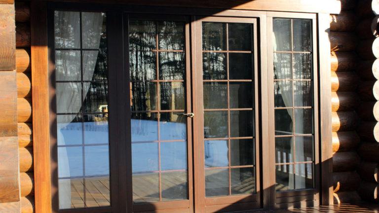 Drvena balkonska vrata