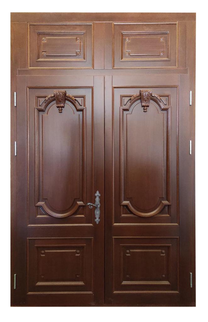 Izgled kopije ulaznih vrata sa spoljne strane