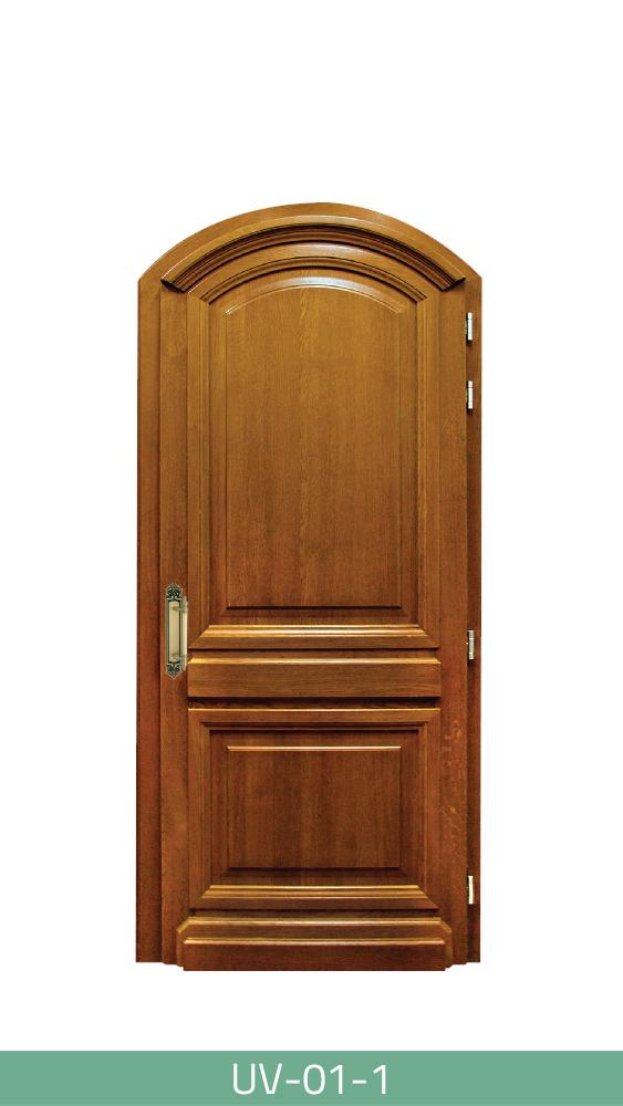 Klasična drvena ulazna vrata