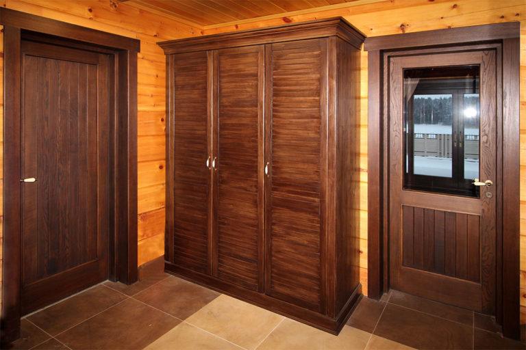 Rustična sobna vrata
